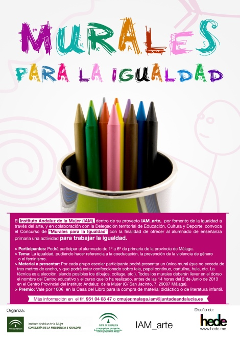 Cartel_Murales_Igualdad_IAM_Málaga_HEDE